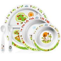 Set De Alimentación Avent Punto Bebé