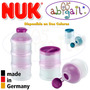 Nuk Dispenser Para Leche En Polvo 3 Recipientes En 1