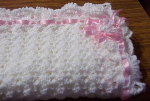 Puntos de crochet para pañoletas de bebé - Imagui