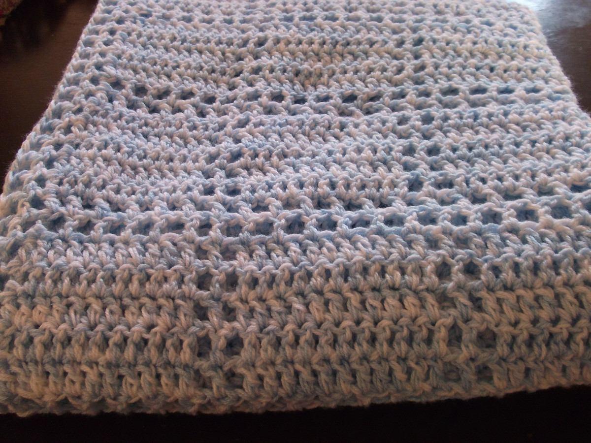 Mantas Para Bebe! Tejidas A Crochet - $ 260,00 en MercadoLibre
