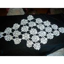 Hermosa Carpeta Tejida En Crochet.