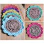 Posavasos De Hilo Tejidos A Crochet