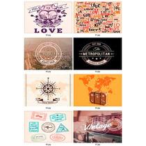 Individuales Ecocuero - 30x45 - 26 Diseños - Vintage Y Otros