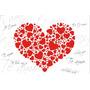 Individuales De Papel Enamorados - Resto O Eventos