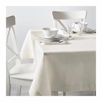 Ikea - Mantel Sueco De Lino Con Bordado Gullmaj 2,40 X 1,45