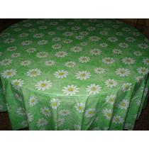 Mantel Plástico Para Mesa Redonda Medida 1.80 X 1.80