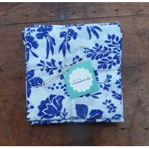 Pack Servilletas De Diseño Flores Azules