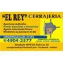 Cerrajeria En Caballito - Cerrajeria El Rey - Atencion 24hs.