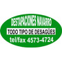 Destapaciones Navarro, Plomeria: Ofrecemos El Mejor Servicio