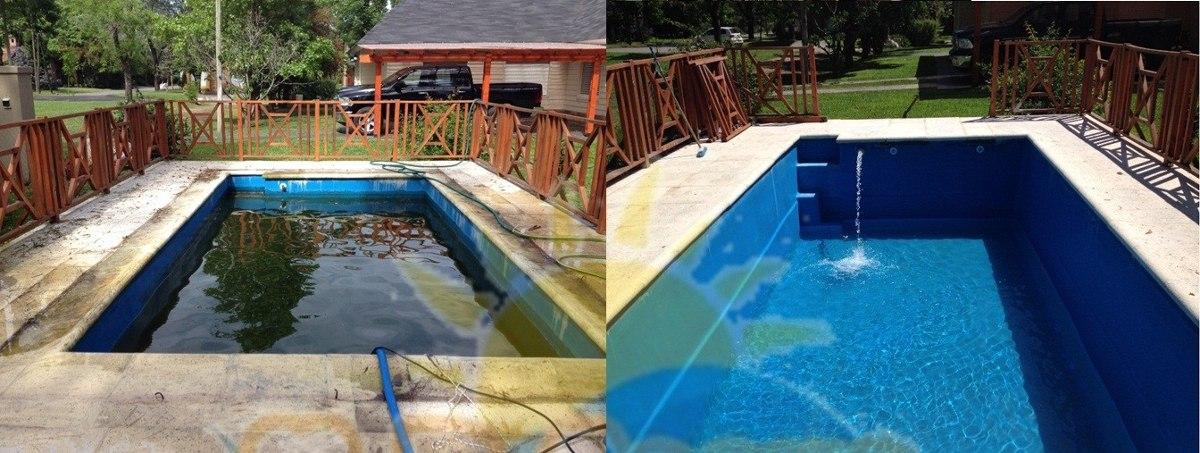Mantenimiento pasada de barrefondos limpieza pintura for Precio mantenimiento piscina