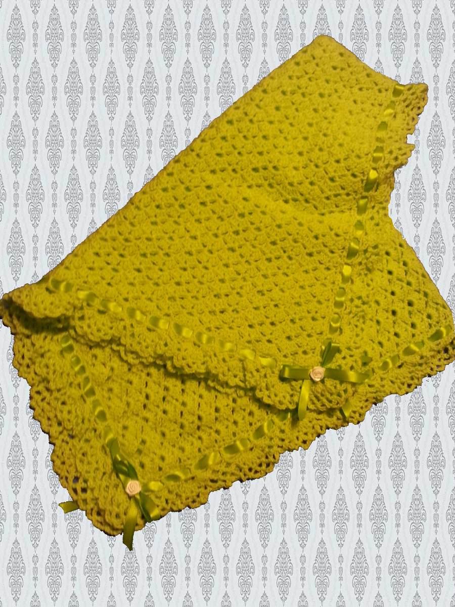 Mantas tejidas en crochet imagui - Patrones de mantas a crochet ...