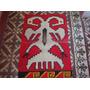 Tapiz Manta En Lana Diseño Andino Etnico Aguila Bicefala