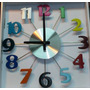 Reloj Psicodelico Vintage*