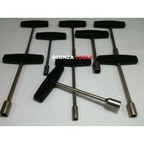 Juego De Llaves T 8 Piezas 7 A 14 Mm (n.rucci) Sconza Tools