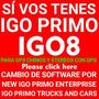Memoria + Igo8 + Igo Primo Para Gps Generico Chino O Stereo