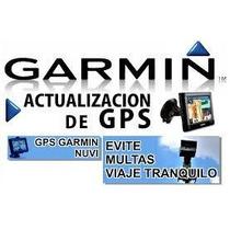 Actualizacion De Gps Garmin, Zonas Peligrosas, Radares.
