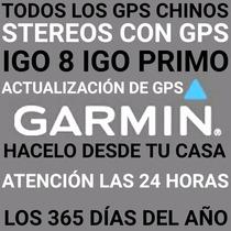 Actualizacion Gps Chino Garmin Igo8 O Tu Auto Desde Tu Casa