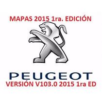 Actualización Gps Peugeot 308 408 / Mapas Mayo 2015