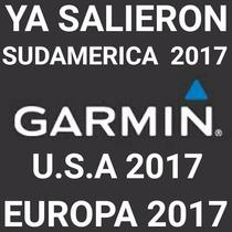 Memoria + Mapas Garmín + Radares Argentina Usa Europa Brasil
