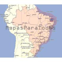 Mapas 2017 De Brasil P/ Gps Garmin - Siempre Ultima Versión