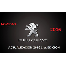 Actualización Gps Peugeot 308 / 408 Versión 2016 1ra Ed.