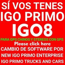 Actualiza Cualquier Gps Chino O Auto Con El Nuevo Igo Primo