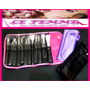 12 Brochas Pinceles Profesionales Maquillaje S87 Lefemme