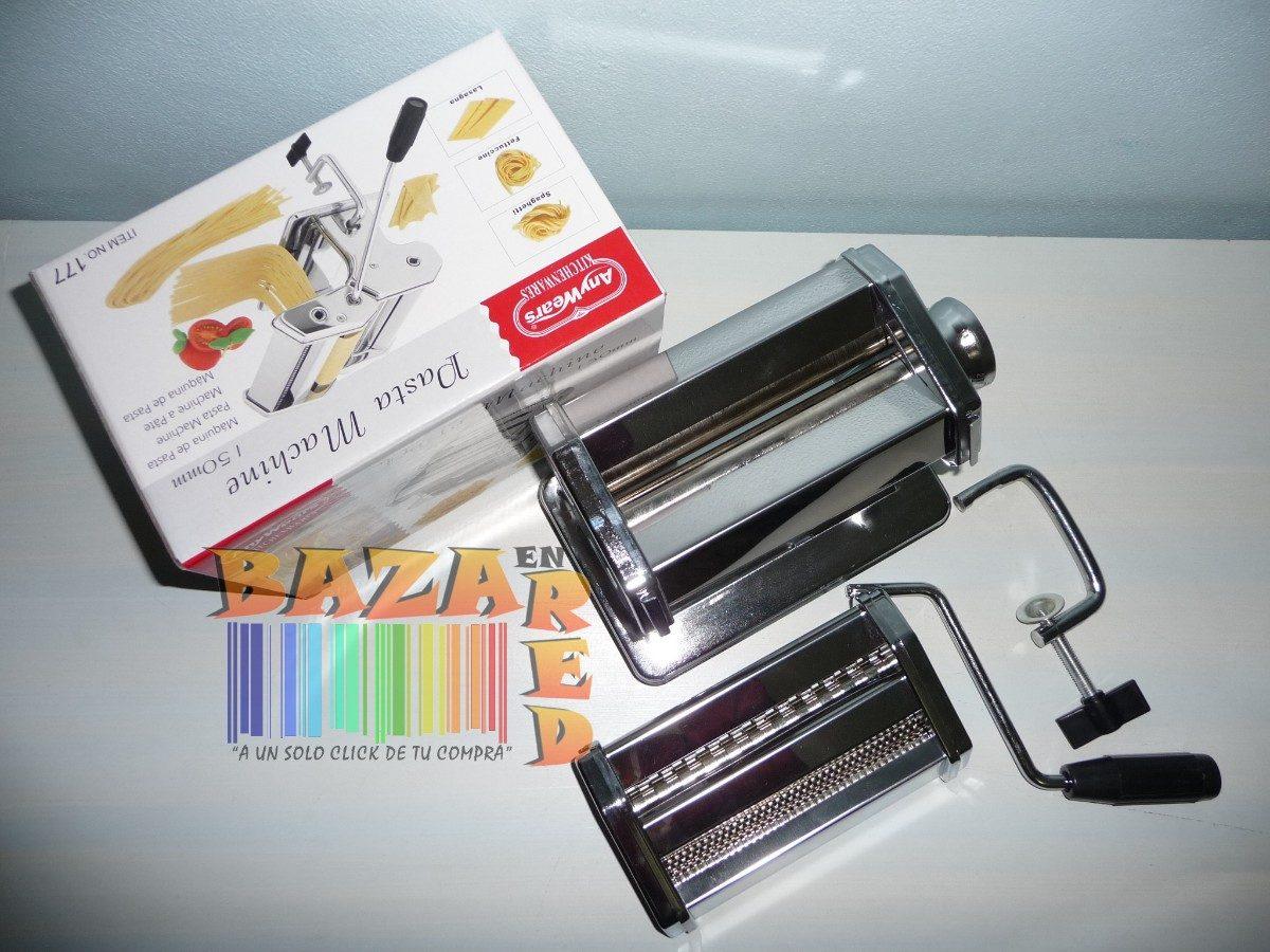 Maquina para hacer pasta tallarines con raviolera nuevas for Pasta para quitar gotele precio
