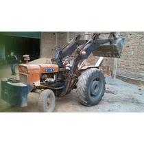 Tractor Fiat Con Pala Invertida