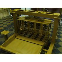 Maquinas Bloqueras Ponedoras, Semi-automaticas