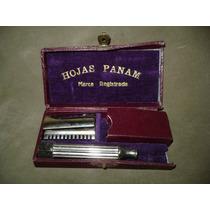 Antigua Caja Maquina De Afeitar Publicidad Hojas Panam
