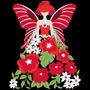 Diseños Matrices Para Maquina De Bordar Hadas De Flores