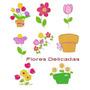 Diseño Matrices P/ Maquina De Bordar Flores Delicadas
