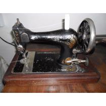 Máquina De Coser Antigua Singer.funcionando - Sin Mueble