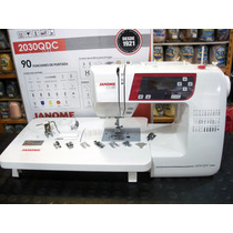 Janome 2030 Qdc Con Kit Quilting Y Patchwork + Curso Casa Gv