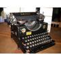 Antigua Maquina De Escribir Alemana Urania Unica En El Sitio