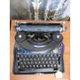 Antigua Maquina De Escribir Remington Noiselles Portable