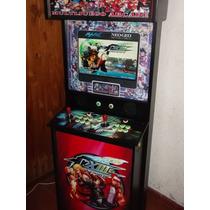 Multijuego Arcade Lcd Mame 23 Sistemas Taitotype X2 Ssf4 Kof