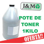 Pote Toner Brother 1 Kg Tn 360 410 420 450 570 580 750 1112