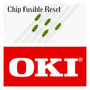 Chip Drum Reset Oki 5600 9600 411 461 471 491 431 Fusible