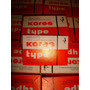 60 Hojas Papel Corrector P/maquina De Escribir 64x40mm Kores