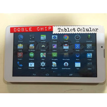 Table Celular 7 Android 3g Doble Chip Liberadas Gps Locales