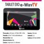 Tablet Pc Exo Eway Tv Digital Hdmi Wifi 3g Ext Bluetooth