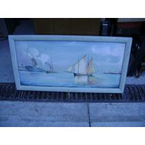 Oleo Motivo Naval Buen Estado 1599 $