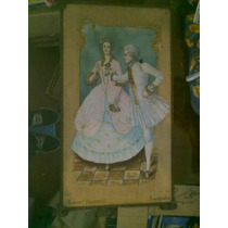 Antiguo Cuadro Souvenir Franzensbad Rosenkavalier