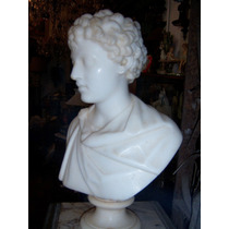 Historical*- Antiguo Busto Marmol Marco Aurelio Joven -envio