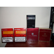 45- Lote De 5 Marquillas Box Dunhill