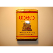 Old Gold Metal Box Cigarettes Año 1947