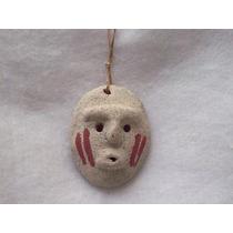 Pequeña Replica Mascara Ceremonial Aborigen Brovill-deco