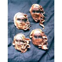 Mascaras Rusticas En Cuero